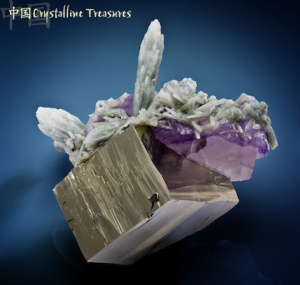 Pyrite and Fluorite-Crystalline Treasures
