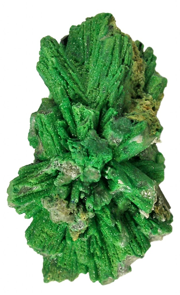 From Tsumeb, Namibia, this rare bayldonite after mimetite fine mineral specimen was acquired by The Arkenstone from the George Elling Fine Mineral Collection.