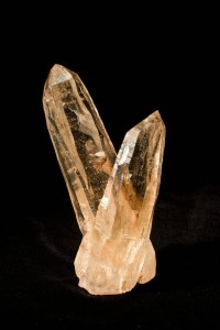 Interior decor loves natural minerals and geodes like this crystal