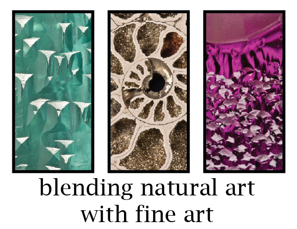 Fine minerals blur the lines between natural art and fine art