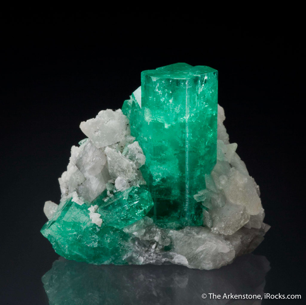 A Colombian Emerald - while many people are familiar with the beauty of cut gemstones, they rarely have the chance to see the beauty of these natural art pieces.