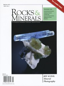 Cover - Rock & Minerals, May/June 2007, Volume 82, Number 3