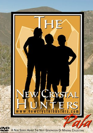 In New Crystal Hunters: Pala, three kids explore the world-famous gem mines of Pala, CA. They visit the OceanView and Pala Chief Mines and find some amazing new specimens!