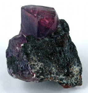An exceptional fine mineral from Winza, Tanzania. This sapphire/ruby on matrix is one of a kind.