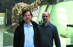 Dr. Robert Lavinsky and Dr. Liu Guanghua co-wrote Crystalline Treasures, a Mineral Heritage of China