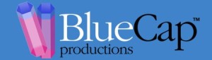 Logo of BlueCap Productions, www.BlueCapProductions.co