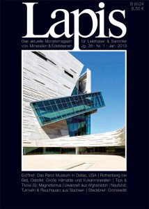 Dr. Robert Lavinsky wrote an article on The Perot Museum that was featured in Lapis Magazine