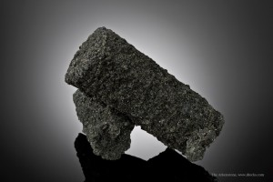Schorl, a type of tourmaline, after aquamarine is an exceptional example of pegmatite minerals.