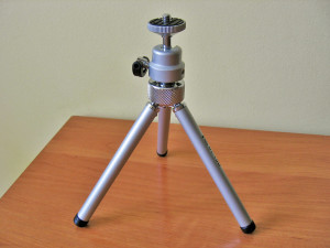 Mini-tripods are inexpensive ways to improve fine mineral photographs