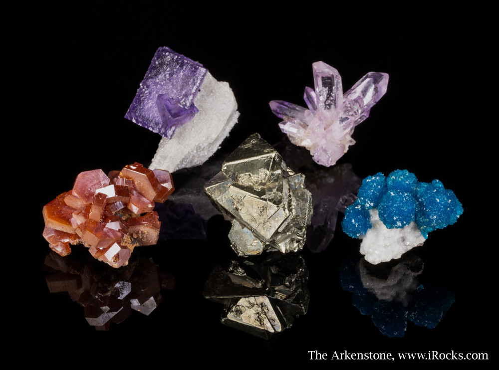 Assembling little treasures of fine minerals can be a cost-effective and rewarding pursuit.
