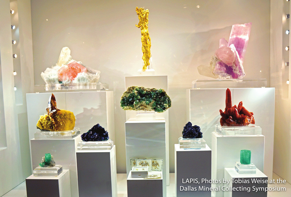 Fine Minerals on display at The Arkenstone