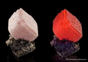 Many fine minerals have a secret - they glow different colors under UV lights!