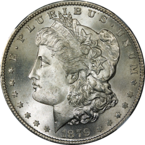 1879 Morgan Dollar Coin
