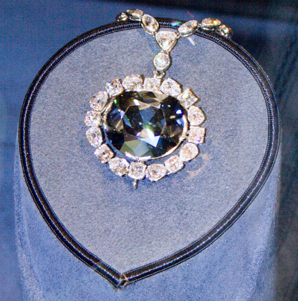 The Hope Diamond is one of the most recognizable gems in the world.