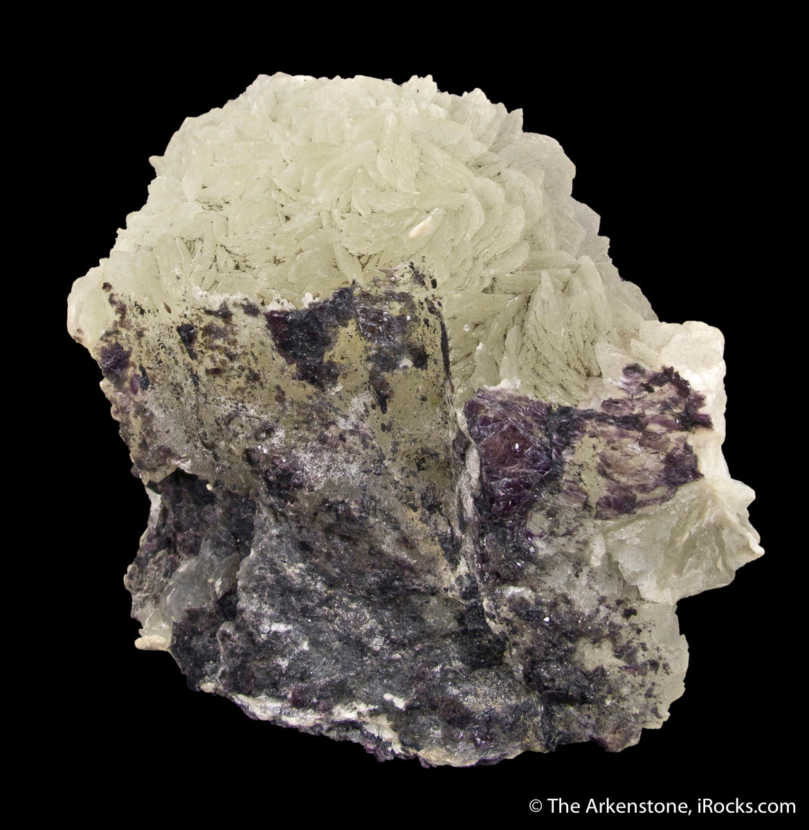 Brucite such as this fine mineral are for sale on iRocks.com. Woods Chrome mine, Lancaster, Pennsylvania