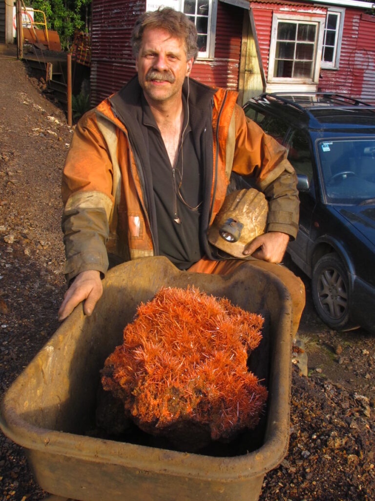 Read about mining adventures in the Adelaide mine with John Cornish