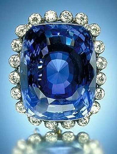 Logan Sapphire Brooch, Smithsonian Institution