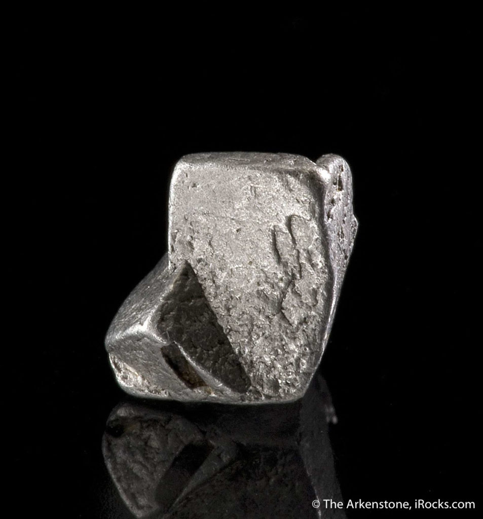 Platinum from Siberia, Russia.