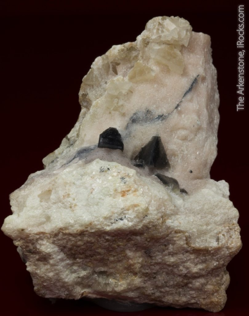 Zunyite fine mineral specimen - rare crystal from the Electric Meatball pocket!