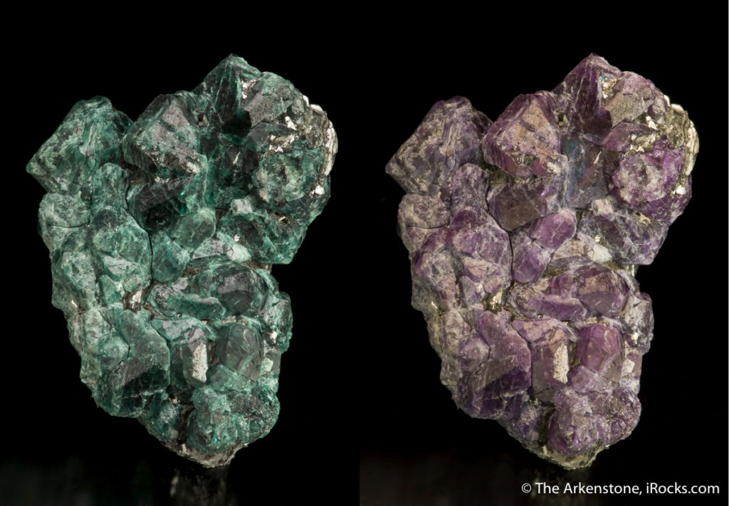 Color-change alexandrite from Zimbabwe