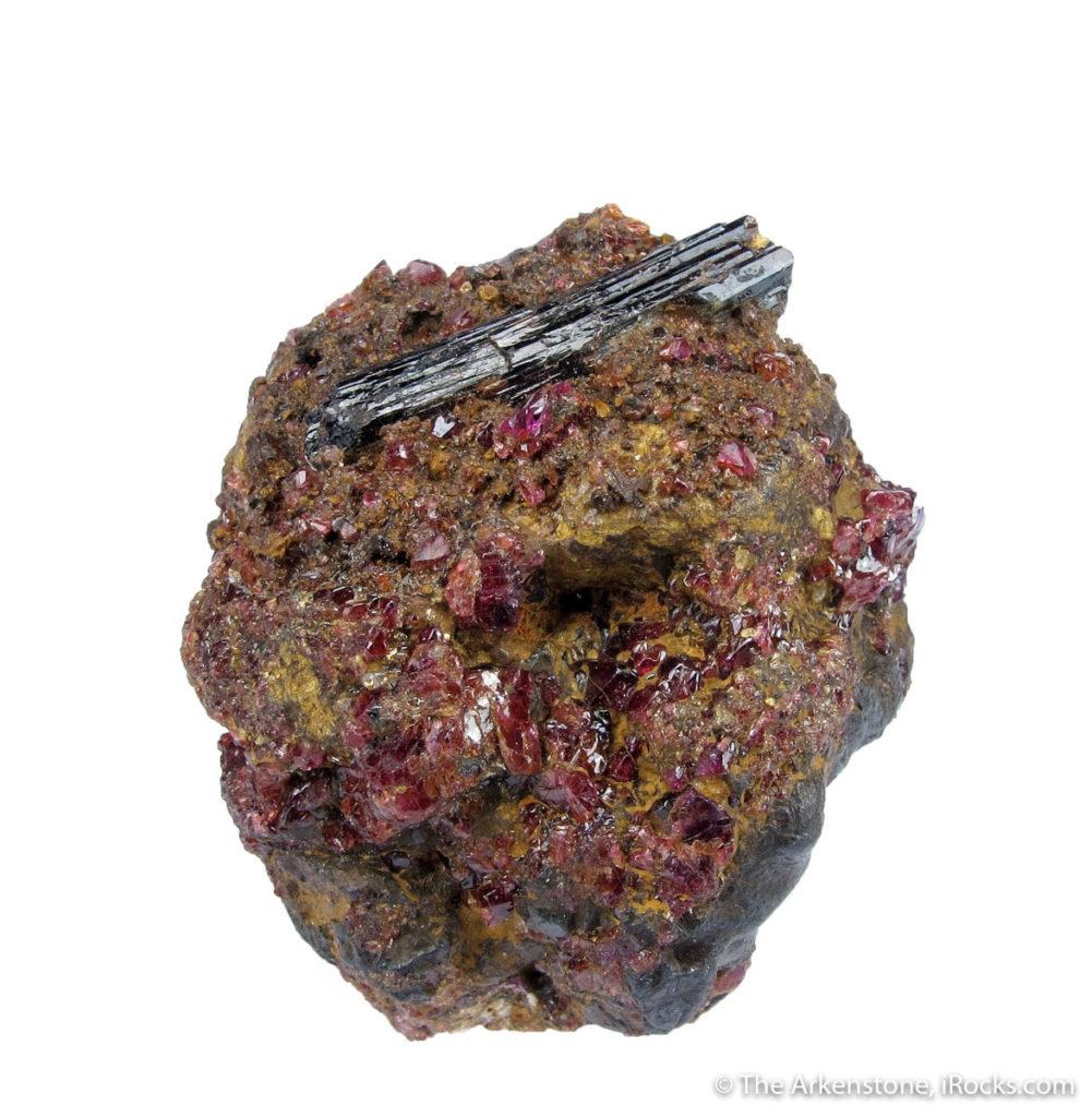 Rare painite from Mogok, Burma (Myanmar).
