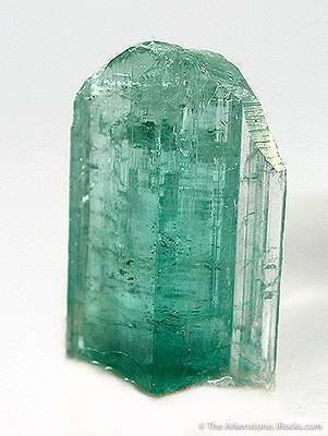mint green tourmaline maine crystal for sale