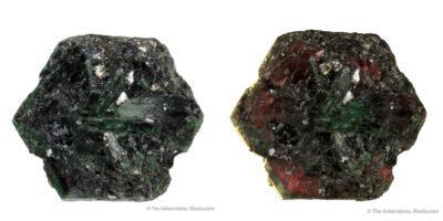 Zimbabwe alexandrite chrysoberyl color change