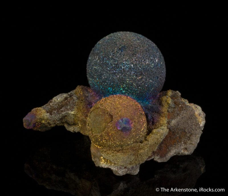 Chalcopyrite fine mineral specimen from Daye, China