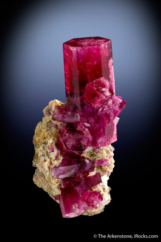 Red Beryl (Bixbite) Crystal from Utah