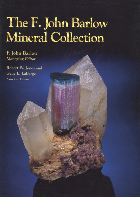 Cover of F John Barlow Mineral Collection Book