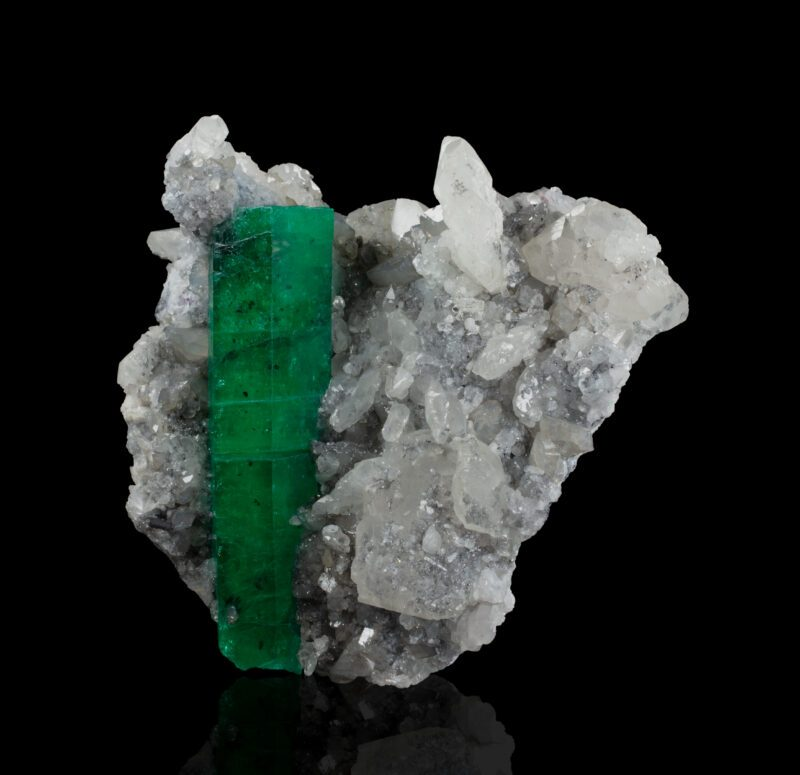 Emerald specimen from Jack Halpern's collection