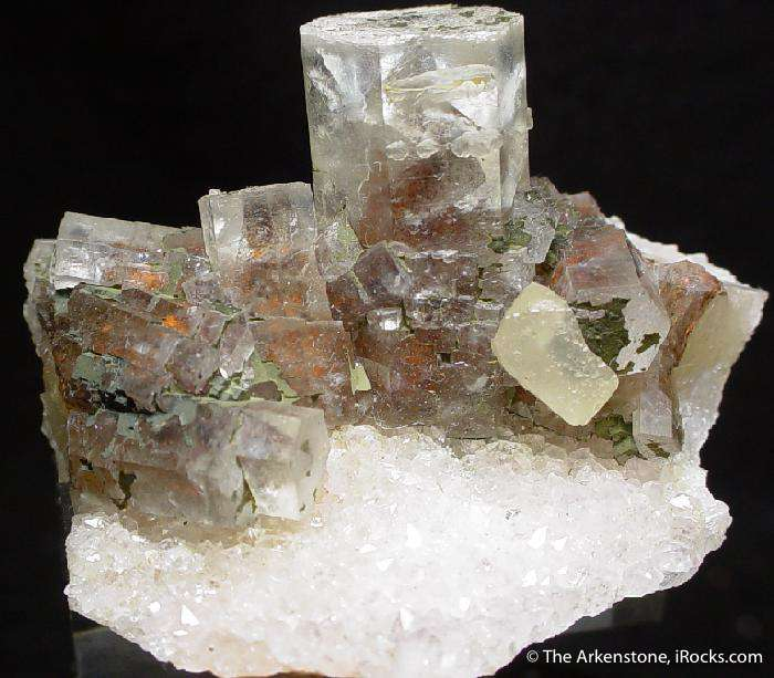 A choice calcite specimen recovered famous quartz amethyst geodes old