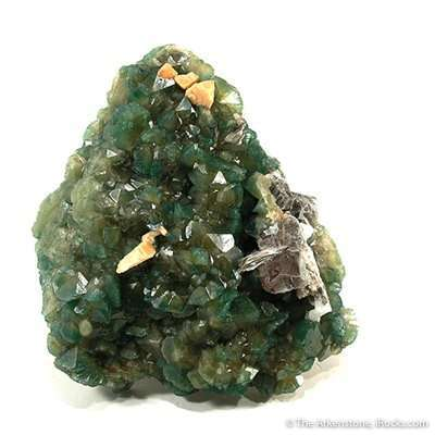 A beautiful large specimen solid covering apatite way completely