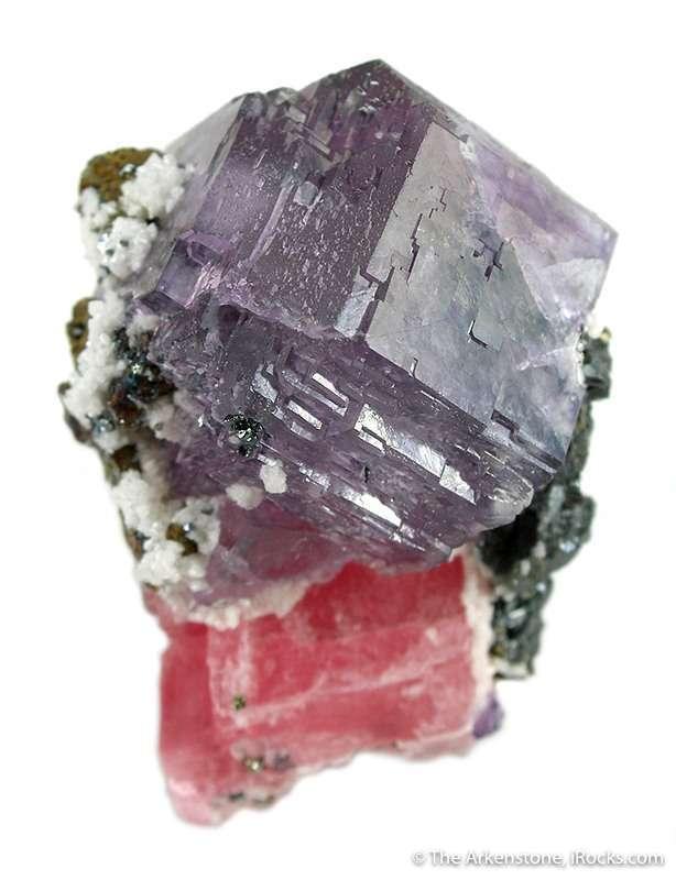This specimen looks like fluorite rhodochrosite combos Sweet Home Mine