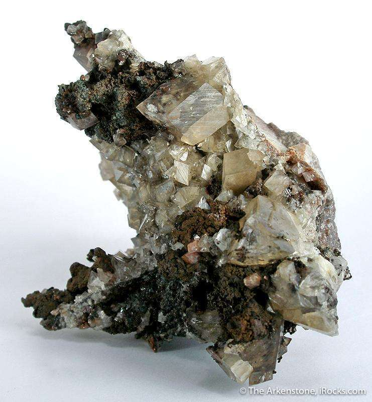 ONLY FROM TSUMEB This unusual combination mineral species Tsumeb