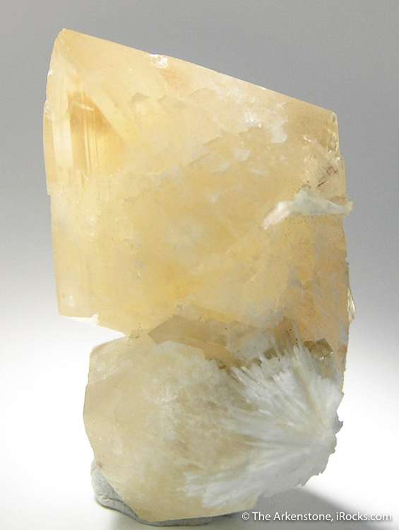 Large finely formed crystals powellite quite rare highly sought