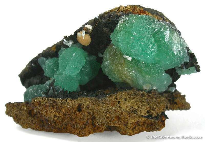 Anapaite reason extremely rare iron phosphate despite fact iron