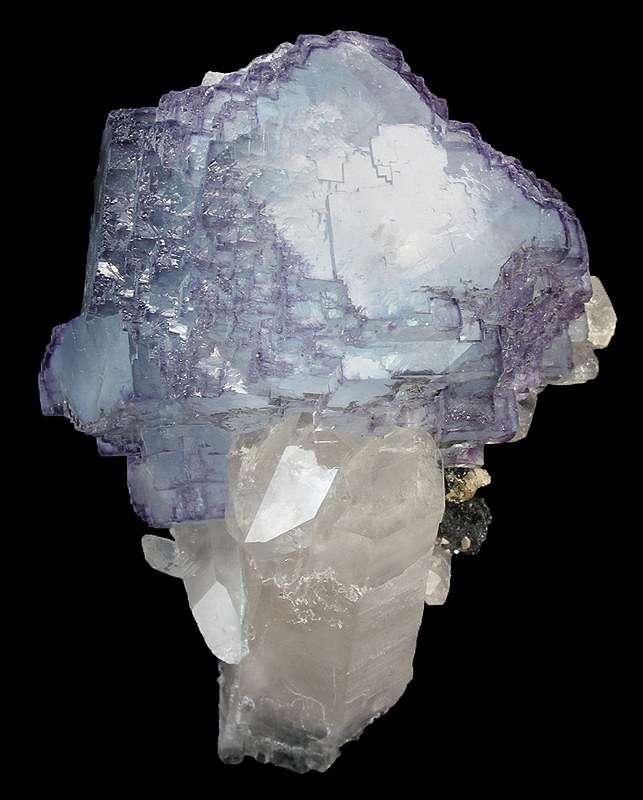 This choice stunning fluorite complex form subtle contrasts symmetries