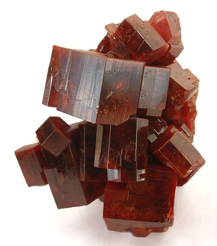 This superfine miniature cluster intergrown vanadinite crystals 2 2 cm