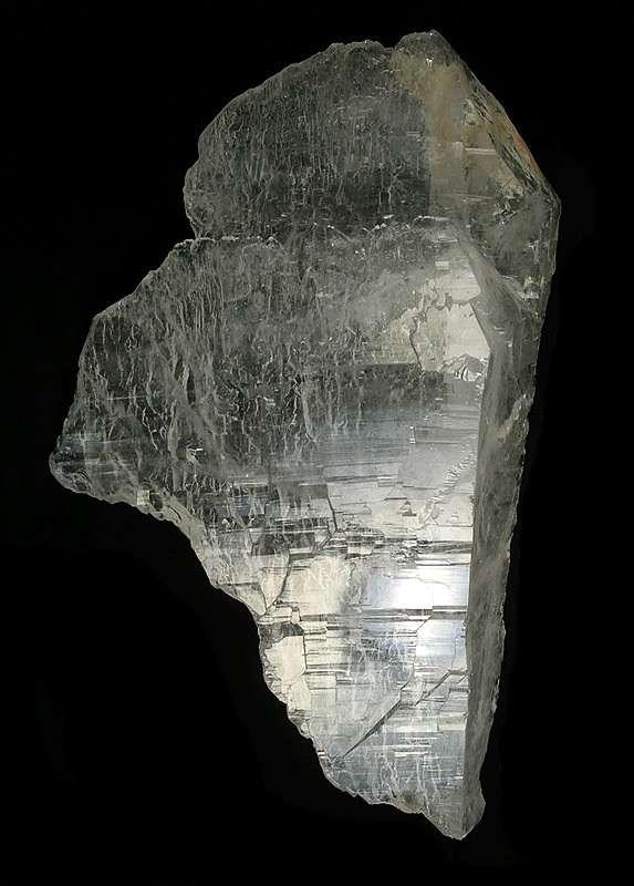 A huge floater shard like quartz crystal just big beautiful big