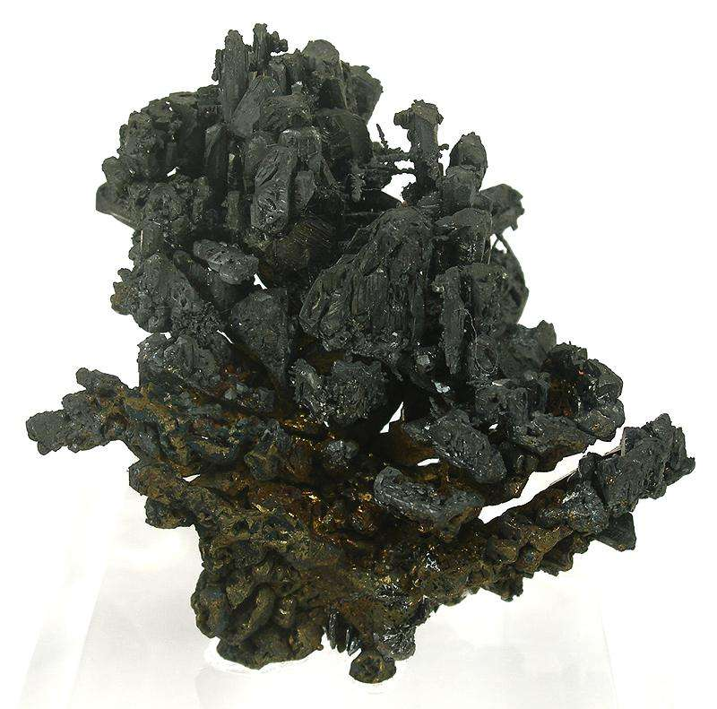 Almost complete floater acanthite specimen displayed equal effect It 3