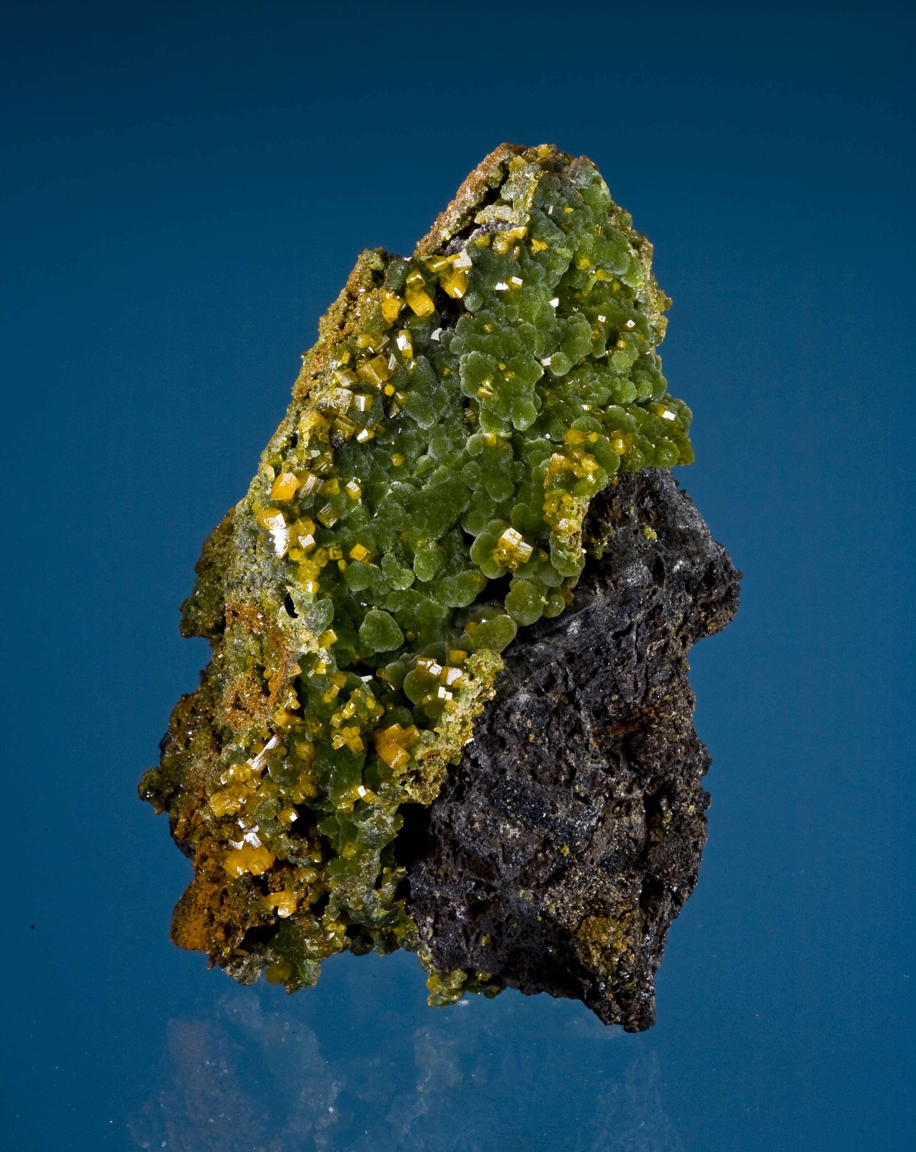 Massive dark gray galena ore unusual locality matrix combo specimen 4