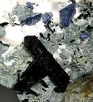 A large combo San Benito Gem Mine specimen neptunites 3 cm benitoites
