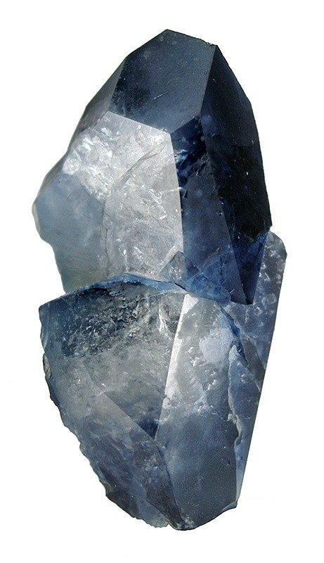 Exceptionally large fine gemmy benitoite crystals mined 1980s Bill