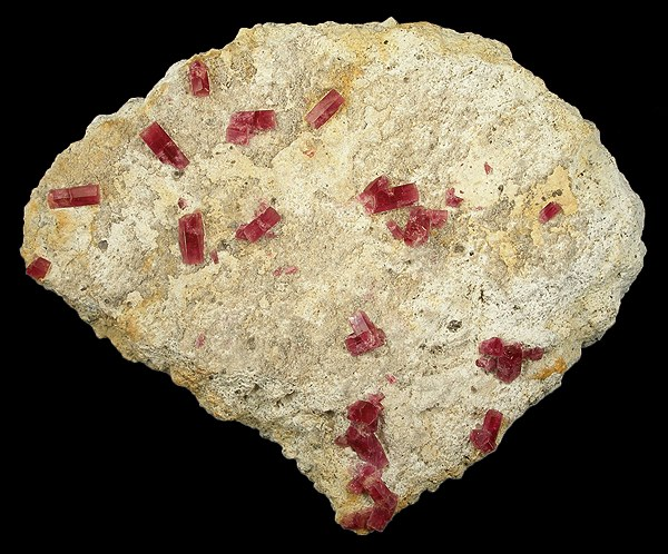 Large red beryl plates somewhat rare reasons broken don t form lot