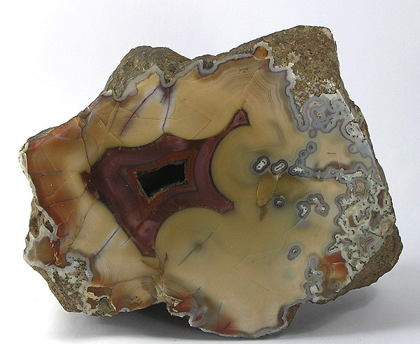 This huge specimen agate thick solid chunk beautiful light coffee
