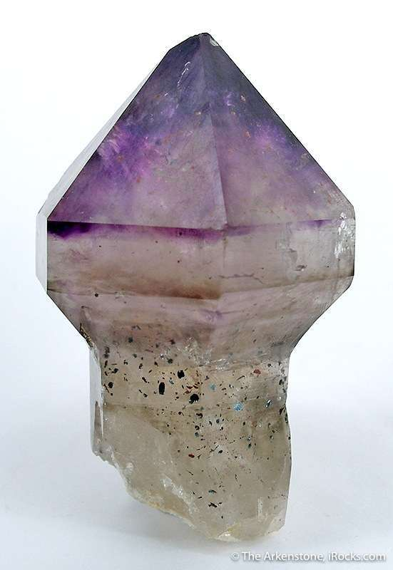 A superb symmetric amethyst scepter unusual locale just hav enot seen