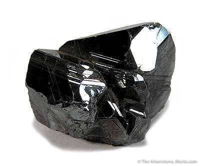 This complete mirror bright formed cluster hematite crystals The