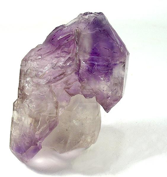 A really interesting specimen scepterd amethyst clear quartz amethyst