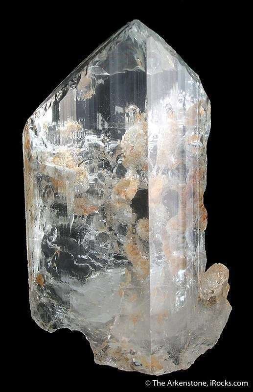 A truly clear topaz brilliant internal gemminess external glassiness